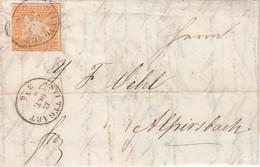 AD Wurttemberg Brief 1859 Nr. 7 - Wurttemberg