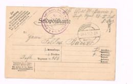 Feldpostkarte.Expédié De Inf.Rgt.97 à 406 Inf.Rgt. - Lettres & Documents