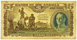 Angola - 5 Angolares - 1.1.1947 - Pick 77 - General Carmona - PORTUGAL - Angola