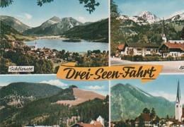 Bayrischzell - Schliersee, Bayrischzell, Spitzingsee, Tegernsee - Ca. 1975 - Miesbach