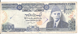 PAKISTAN 1000 RUPEES ND1988 VF P 43 - Pakistan