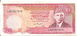 PAKISTAN 100 RUPEES ND1986 VF P 41 - Pakistan