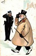 CPA ENZO VAN DOCK - Polizia, Guardia - Banca, Banque, Bank - Umoristica, Humour, Humorous - NV - V083 - Andere Illustrators