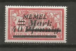 Timbre De Colonie Française Memel Neuf *  N 84 - Nuovi