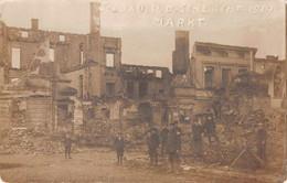 Carte Postale Photo SOLDAU-DZIALDOWO-Pologne-Polen-Poland-Polska-Markt-Schlacht 1914-Krieg - Poland