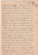Greece Grece Rare Family Archive Collection 1900 Document Greek Cachet Stamp - Grèce