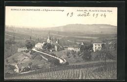 CPA Remilly En Montagne, L`Eglise Et Son Voisinage - Non Classificati