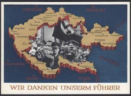 AK NS Militaria Propagandakarte 3.Reich 1938 Ga.P275 Sudetenland  (22912 - Sin Clasificación