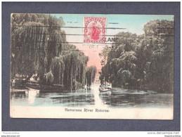NEW ZEALAND HAMARANA RIVER ROTORUA USED 1910 - New Zealand