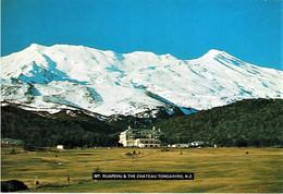 Mt. Ruapehu & The Chateau, Tongariro, New Zealand - Unused - New Zealand