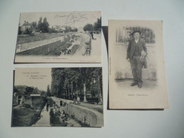 CPA / Lot De 3 Cartes Postales Anciennes / Allier (03) GANNAT - Otros Municipios
