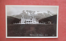 Blank Back Photo   Chateau & Mt Ruapehu New Zealand>    Ref 4839 - New Zealand