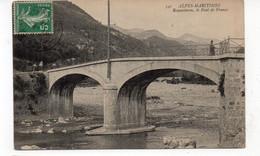 06 - ROQUESTERON - Le Pont De France - Animée - 1913 (R174) - Altri Comuni