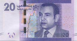 Billet, Maroc, 20 Dirhams, NEUF - Morocco
