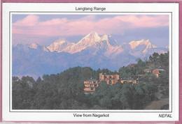 LANGTANG RANGE VIEV FROM NAGARKOT - Nepal