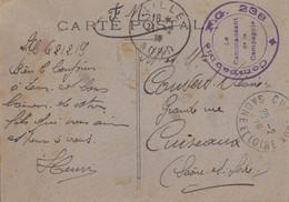 NORD CP 1919 LILLE COMPAGNIE CAMP DE PRISONNIERS DE GUERRE 238 FM - 1877-1920: Semi-moderne Periode