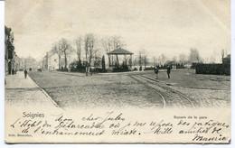 CPA - Carte Postale - Belgique - Soignies - Square De La Gare - 1904 (AT16548) - Soignies