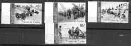 TRISTAN DA CUNHA, 2019, MNH, WWII, D-DAY, SHIPS,  MILITARY, 4v - WW2 (II Guerra Mundial)