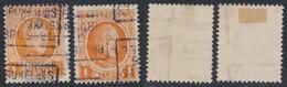 "Houyoux - N°190 Préo ""Bruxelles 1926 Brussel"" Position C/D Complet (n°3684) - Rollenmarken 1920-29"