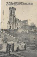 85, Vendée, APREMONT, L'Eglise, De La Fin DuXVé Siécle, Louis XIII Y Fit Chanter Un Te Deum, Scan Recto-Verso - Other Municipalities