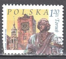 Poland 2003 - City Landmarks - Mi 4015  Used - Gestempelt - Usados