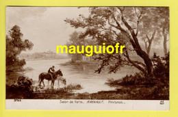 """ARTS / PEINTURE / SALON DE PARIS / TABLEAU DU PEINTRE A. RENAULT """"PAYSAGE"""" - Pittura & Quadri"""