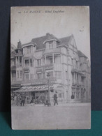 LA PANNE   Hotel Engelbert - De Panne