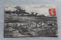 Cpa 1913, Saint Bonnet, Vallée De Champsaur, Vue Générale, Le Drac Et Le Mont Chaillol, Hautes Alpes 05 - Andere Gemeenten