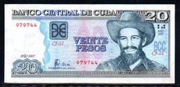 514-Cuba 20 Pesos 2007 CJ-21 - Cuba