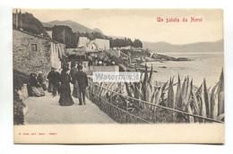 Un Saluto Da Nervi - Early Italy Postcard - Otras Ciudades