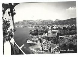 9562 - SORRENTO NAPOLI PANORAMA E MARINA GRANDE 1950 CIRCA - Andere Steden