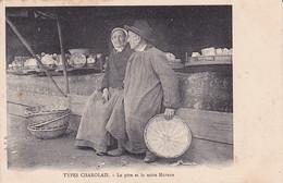 71 -- Types Charolais -- Le Père Et La Mère Matron --- 3534 - Charolles