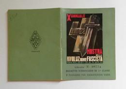 """Biglietto Speciale A Tariffa Ridotta A/R Milano-Roma """"Mostra Della Rivoluzione Fascista"""" 1932-33 - Other"""