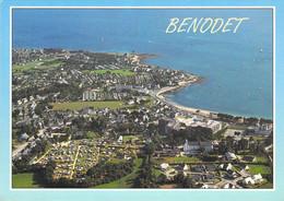 29 - Bénodet - La Plage, Les Campings Et La Pointe Saint Gilles - Vue Aérienne - Bénodet