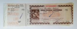 """Buono Postale Fruttifero Serie """" 0"""" Da L.1.000.000 Anno 1981 - Other"""