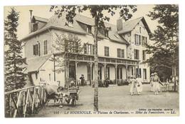CPA 63 LA BOURBOULE PLATEAU DE CHARLANNES HOTEL DU FUNICULAIRE - La Bourboule