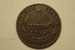 Monnaie, France, Dupuis, Centime, 1914, Paris, TTB+, Bronze, Gadoury:90, KM:840 - A. 1 Centime