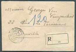 Lettre Recommandée De VALONE Le 1-7-1923 Vers Bruxelles. . - 17817 - Albanien