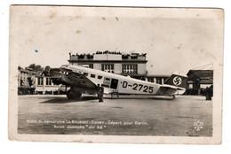 Aérodrome Le Bourget Dugny , Départ Pour Berlin , Avion Junkers Ju 52 - Non Classificati