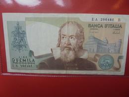 ITALIE 2000 LIRE 1973 Circuler - 2000 Lire