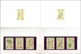 Qatar** 1991, Flowers/Plants Special Presentation Pack (Set Of 6v.) Very Very Rare, Limited & Hard - Qatar