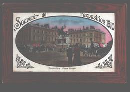 Bruxelles - Souvenir De L'exposition 1910 - Place Royal - Squares