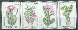 Monaco YT N°1877/1880 Flore (Bande Se-tenant) Neuf ** - Neufs