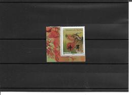 Nouvel An Chinois Année Du Buffle Neuf Coin De Feuillet 02/202 - Unused Stamps