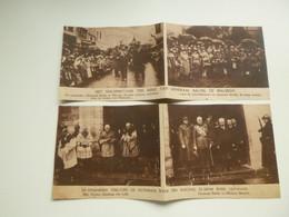 "Origineel Knipsel ( C 796 ) Uit Tijdschrift  "" Ons Land ""  1923 :  Mgr. Rutten  Generaal Baltia  Malmedy - Unclassified"