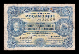 Mozambique 2,50 Escudos 1941 Pick 82 BC F - Mozambique