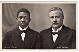 Swedish Missionary Edward Karlman And Jeremia Kibangu Congo - Missionen