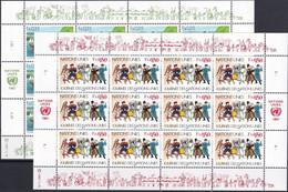 UNO GENF 1987 Mi-Nr. 158/59 Kleinbogen ** MNH - Blocks & Sheetlets