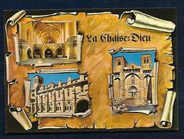La Chaise-Dieu (Hte-Loire) - Station Climatique Et Touristique - Le Jubbé De L'église Abbatiale - L'église Abbatiale - La Chaise Dieu