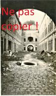 PHOTO ALLEMANDE - CASEMATE DU FORT DE VILLERS SEMEUSE PRES DE CHARLEVILLE MEZIERES ARDENNES - GUERRE 1914 - 1918 - 1914-18